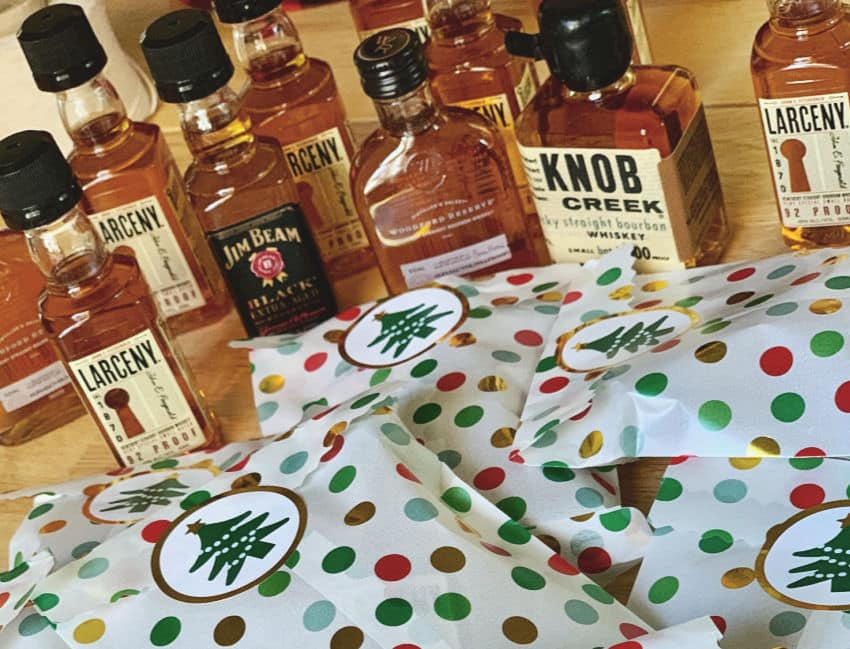 Bourbon Advent Calendar DIY