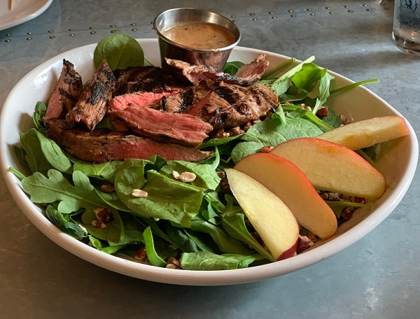 steak salad from Jimmy V's