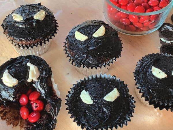 Venom Movie Cupcake party