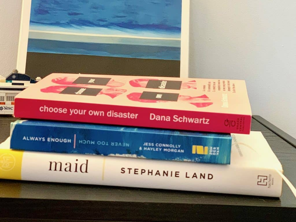 2019 Reading List Stack of Books