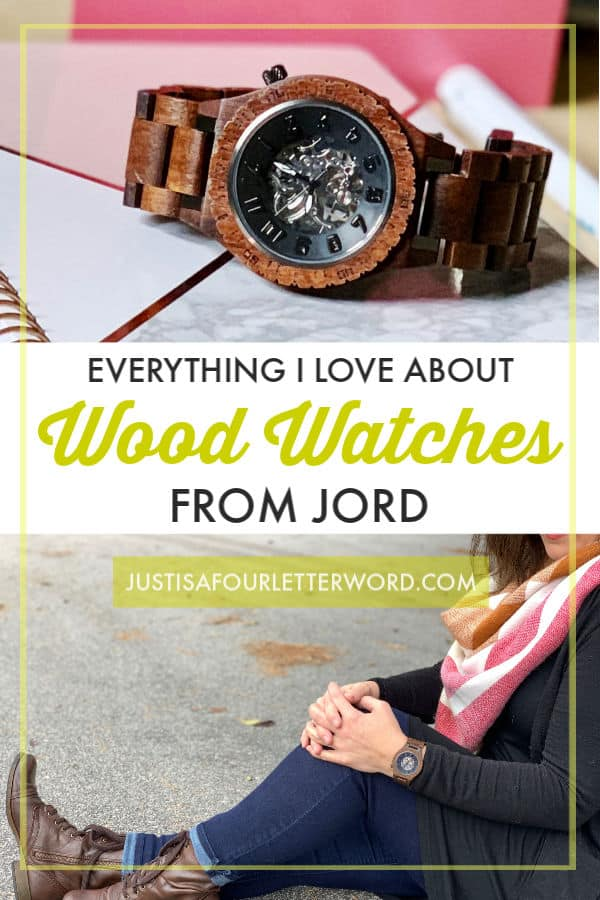 Everything I love about Wood Watches from Jord