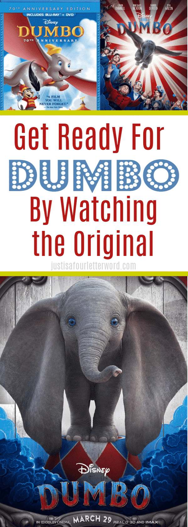 Get Ready for the New Dumbo Movie by Watching the Original Animated Dumbo!