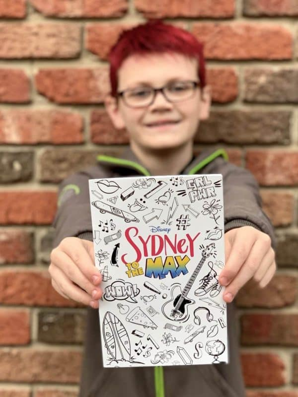 Oscar with Sydney to the Max Coloring Book
