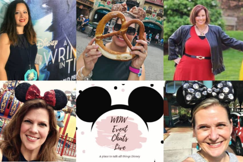 Photos of the WDW Event Chat Live Hosts