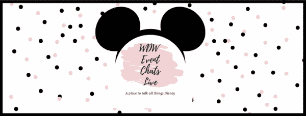 WDW Event Chats Live Header