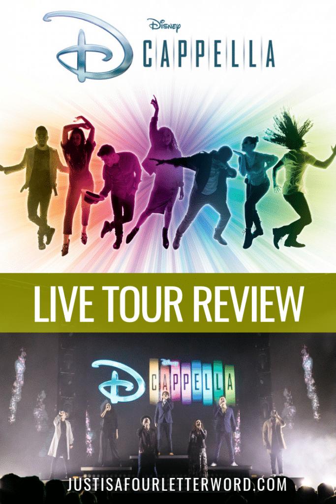 DCappella Live Tour Review