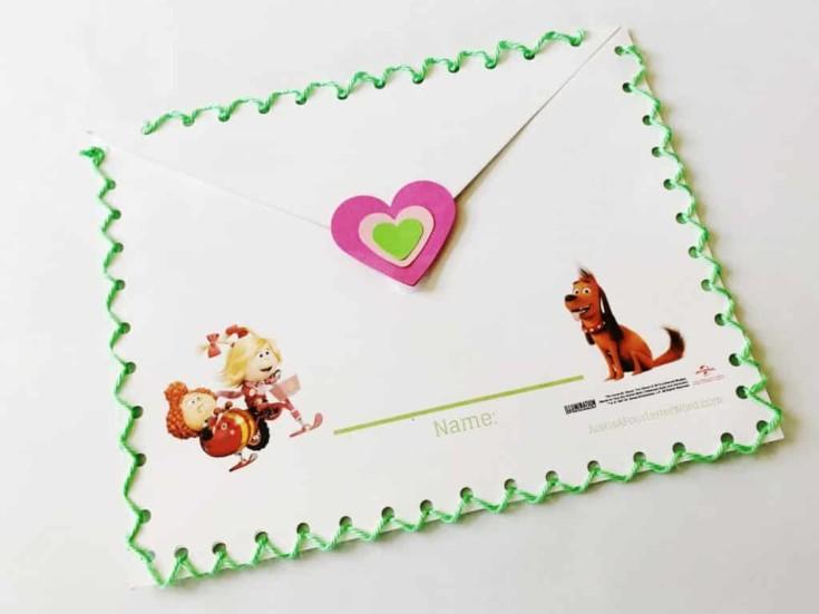 Cute Valentine Keepers Inspired by The Grinch