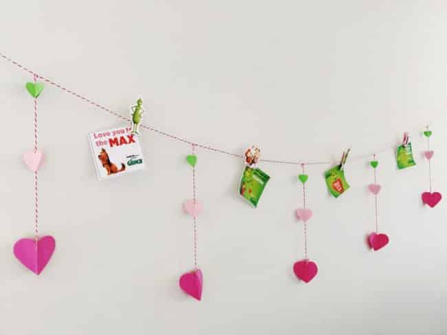 Valentines Day Garland inspired by The Grinch