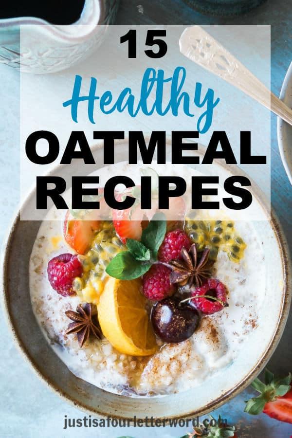 Healthy oatmeal recipe roundup