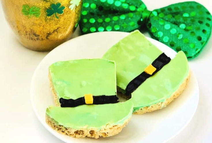 Leprechaun Hat St. Patrick's Day Treats for Kids