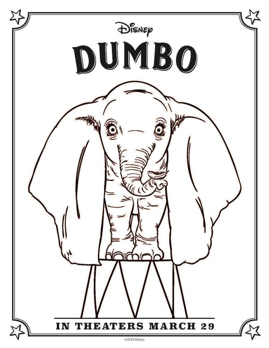 Dumbo Coloring