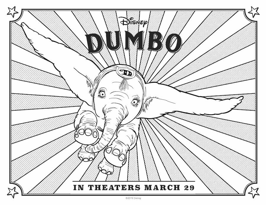 Dumbo flying
