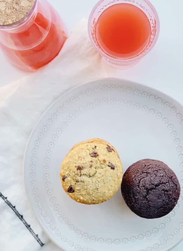 Garden Lites muffin plate