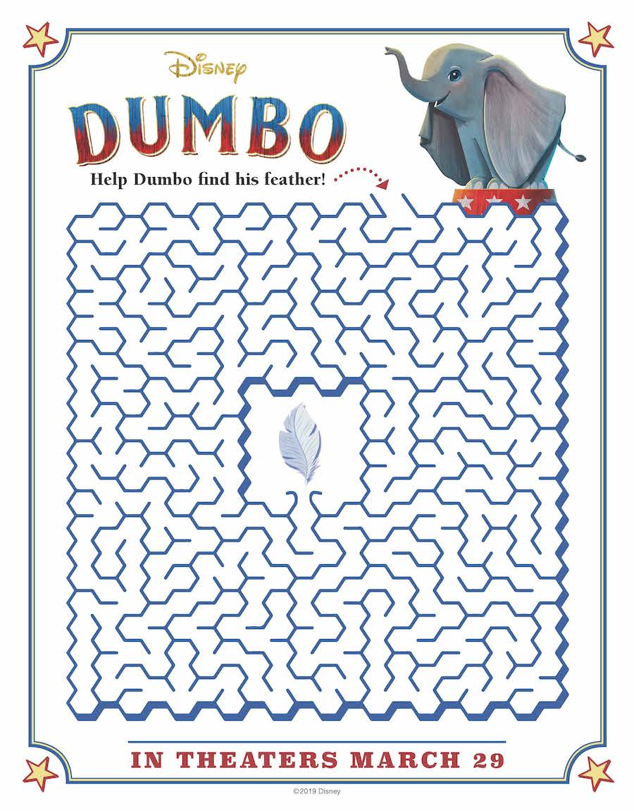 Dumbo Maze