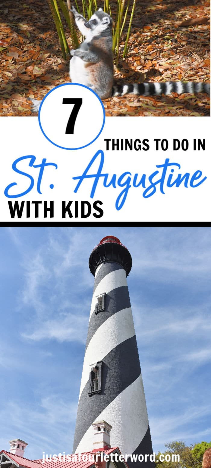 Things to do in St. Augustine with Kids