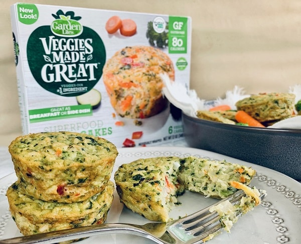 Veggie Cakes Serve