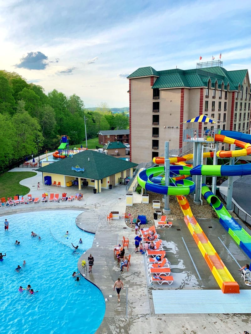 Country Cascades Waterpark Resort Pool View