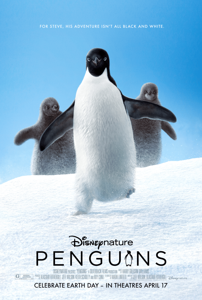 DisneyNature Penguins Poster