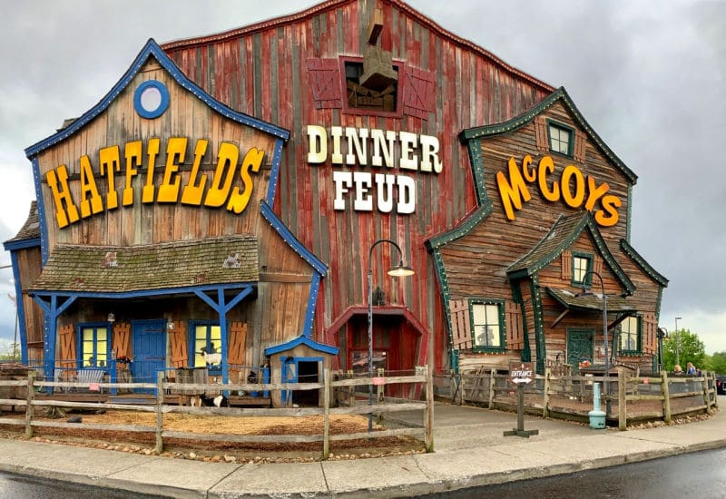 Hatfield and McCoy dinner feud