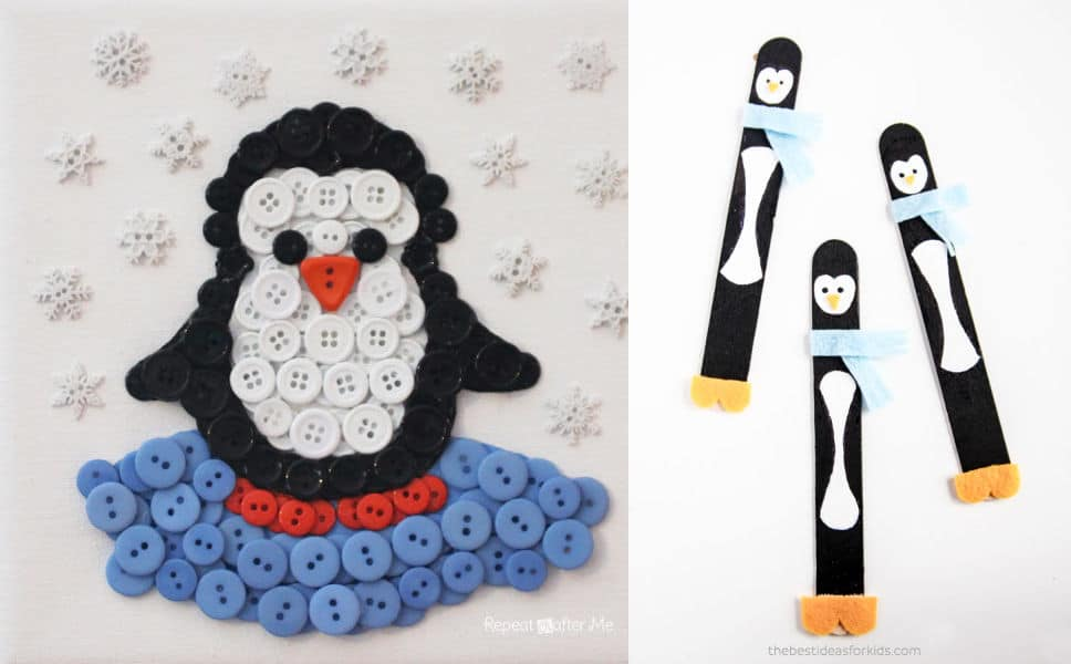 Penguin Crafts Featured