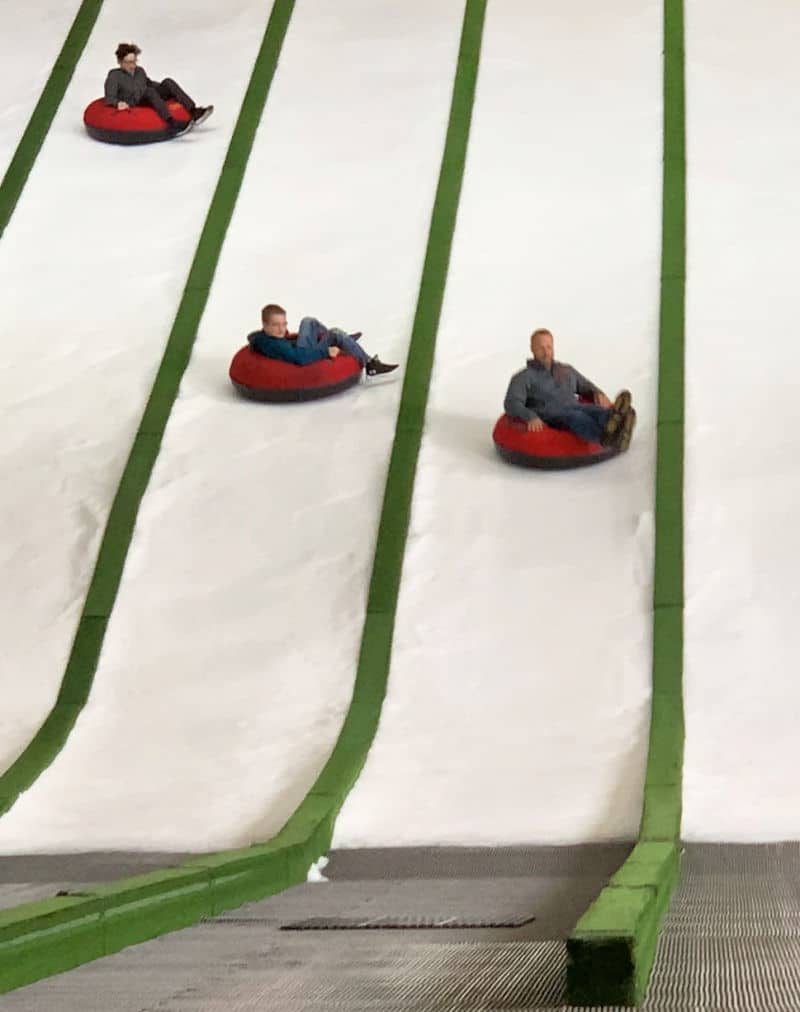 Pigeon Forge Snow Tubing