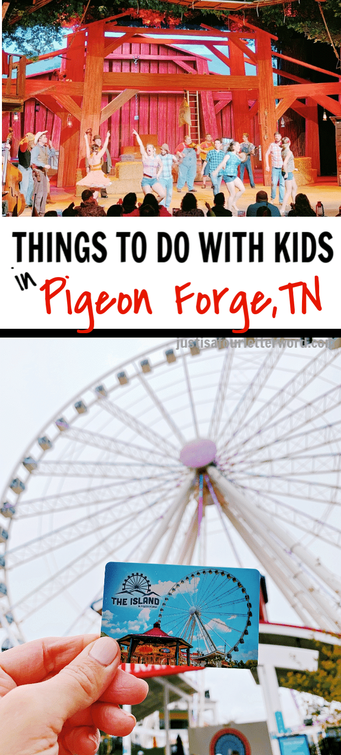 Things to do in Pigeon Forge with Kids Pin
