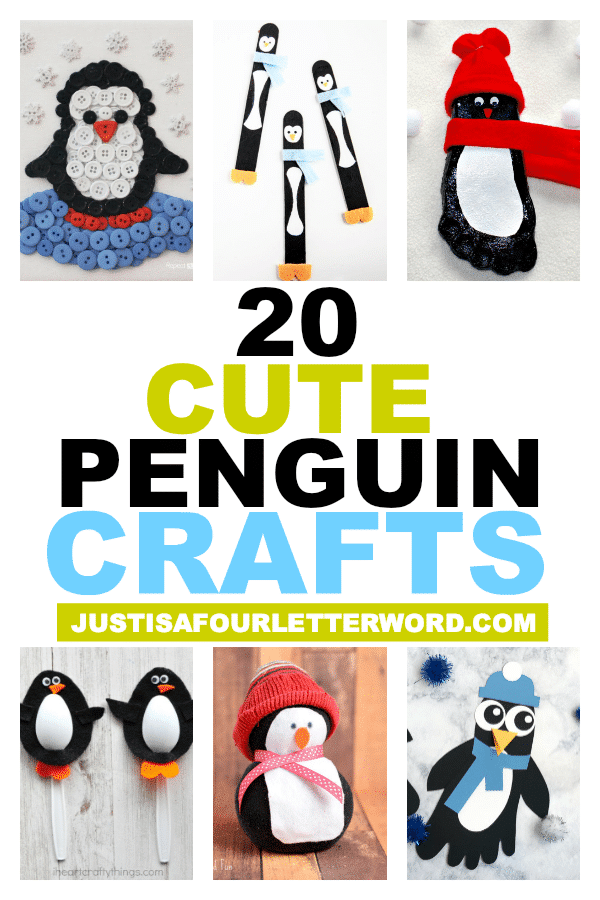 20 Cute Penguin Crafts