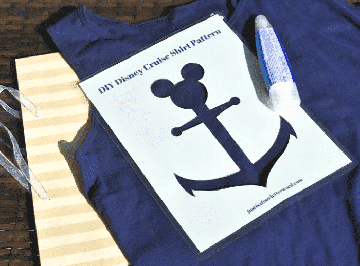 DIY Disney Cruise Shirts | FREE Template