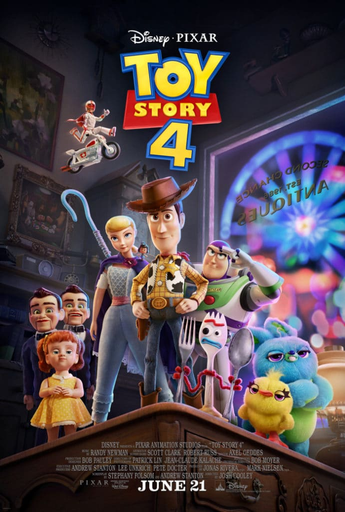 Toy Story 4 Review - movie poster