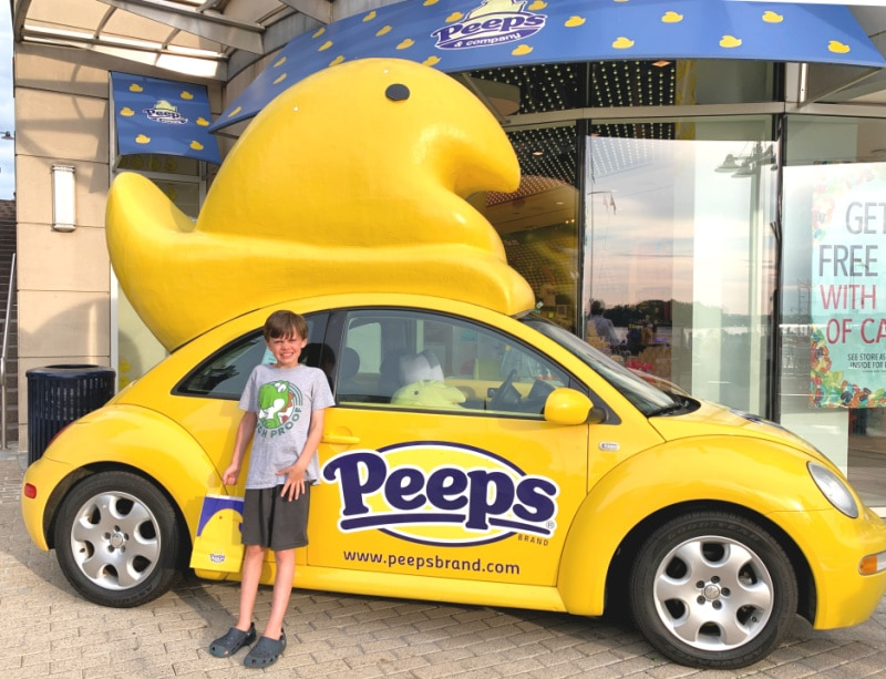 peeps car