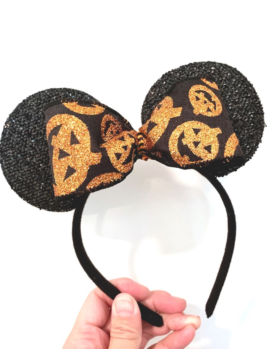 Custom Halloween Minnie Ears