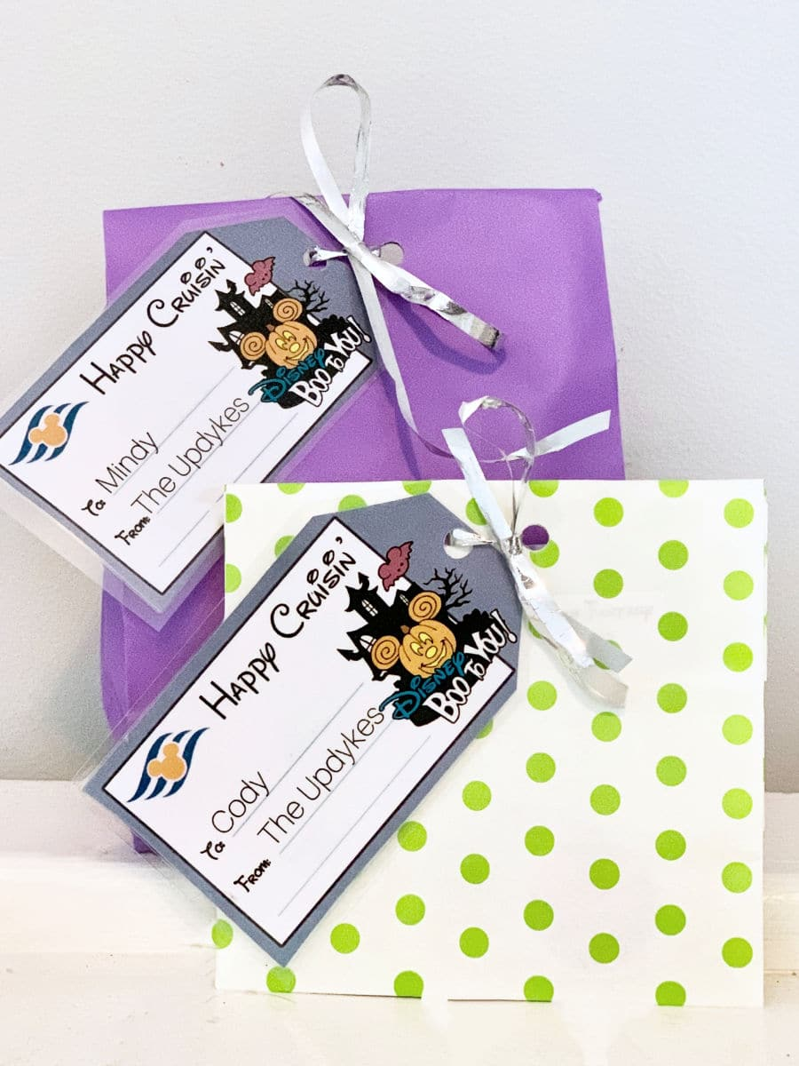 Fish Extender gifts wrapped with tags