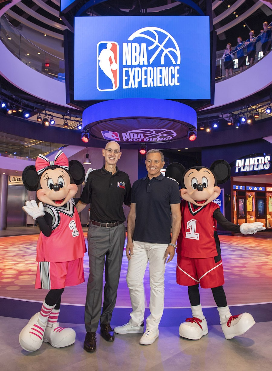 NBA Experience Grand Opening at Disney Springs