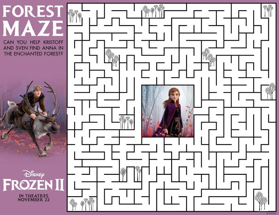 Frozen2 Maze