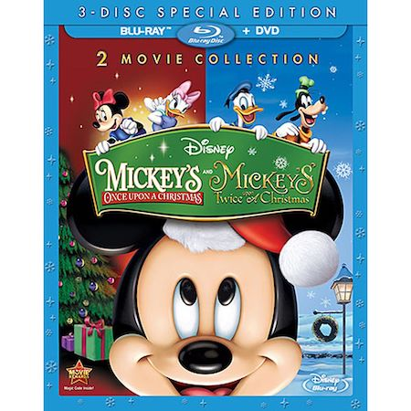 Mickeys Once Upon a Christmas and Twice