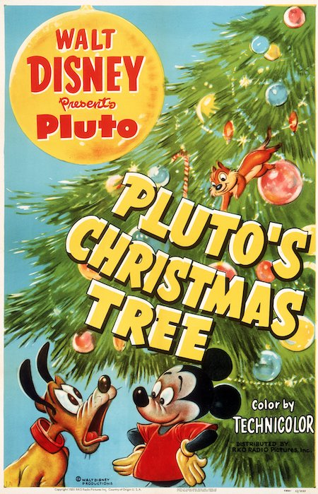 Plutos Christmas Tree