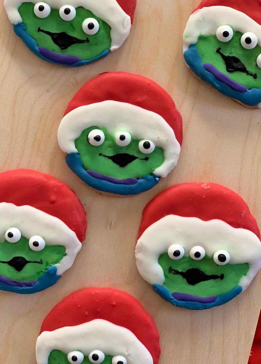 Toy Story Cookies drying