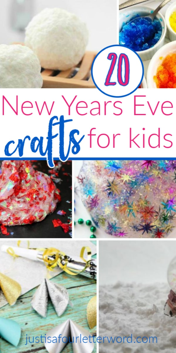 20 New Years Crafts for Kids