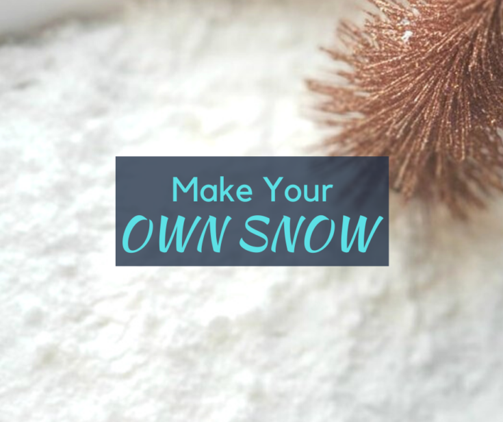 How to Make Your Own Snow - The Mad Mommy -