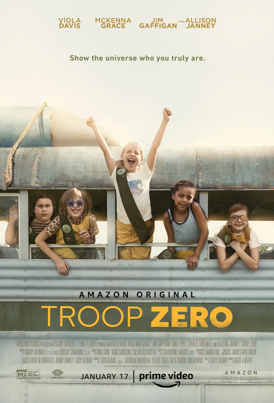Troop Zero Movie Poster in Troop Zero parents guide