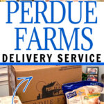All About NEW Perdue Farms Delivery Service Pinterest Image