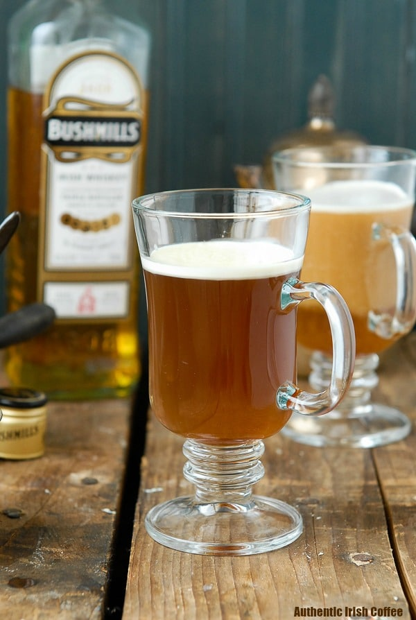 Authentic Irish Coffee Recipe - Classic Irish Cocktail