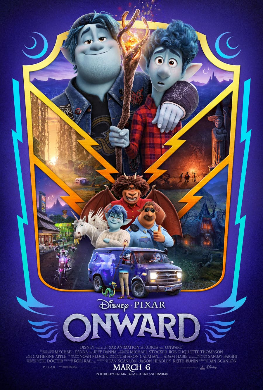 Disney Pixar Onward movie poster in Onward parents guide