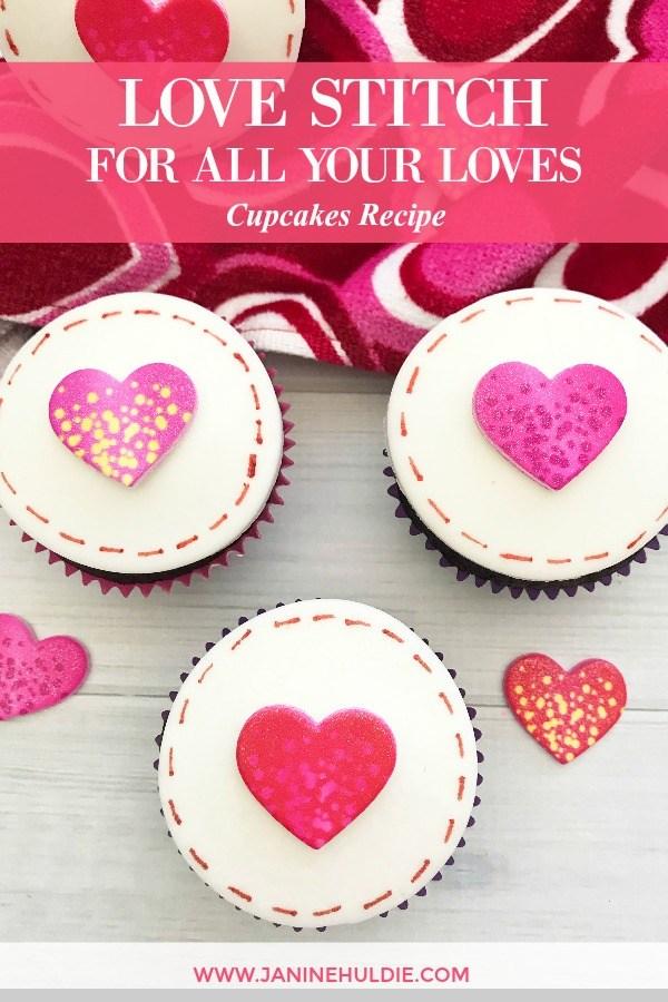 Love Stitch Cupcakes