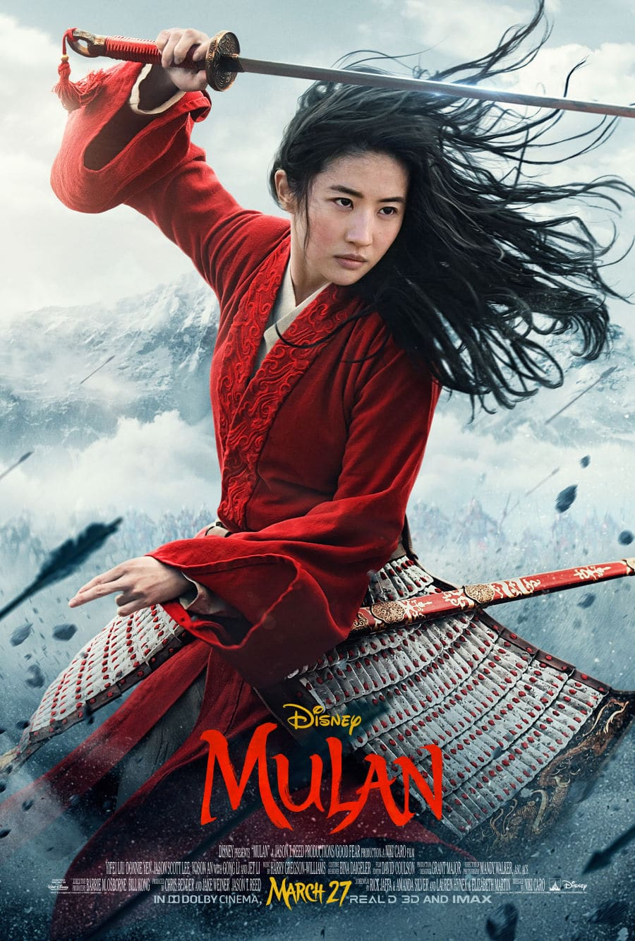 Mulan movie poster in Mulan parents guide post