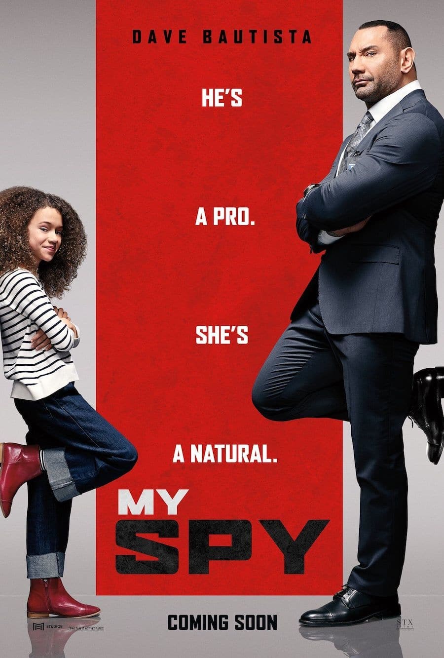 My Spy Parents Guide image of Movie Poster