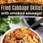 southern fried cabbage recipe with sausage