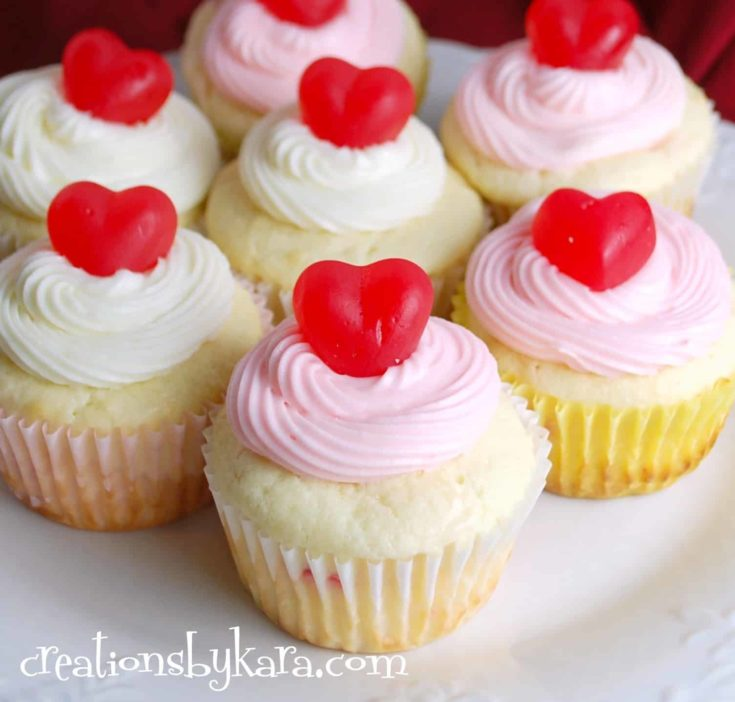 14 Adorable Valentine S Day Cupcakes