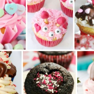 valentines day cupcakes featured