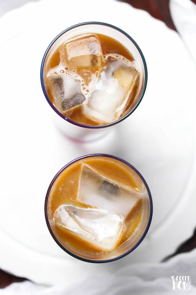 Creamy Baileys Iced Coffee